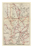 California: Colusa, Yolo, Napa, Butte, Yuba, Sutter, Solano, and Sacramento Counties, c.1896 Prints by George W. Blum