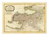 Turquie d'Asie, c.1791 Poster by Rigobert Bonne