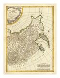 Russia Orientale, c.1785 Poster by Rigobert Bonne