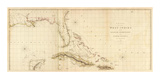 West Indies I, c.1810 Prints by Aaron Arrowsmith