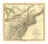New York, Vermont, New Hampshire, c.1806 Posters by John Cary