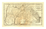 State of Georgia, c.1795 Prints by Mathew Carey