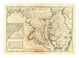State of Maryland, c.1795 Posters by Mathew Carey