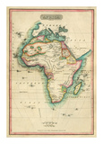Africa, c.1820 Art by John Melish