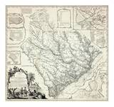 Map of the Province of South Carolina, c.1773 Prints by James Cook