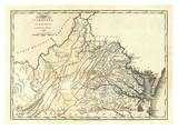 State of Virginia, c.1795 Poster von Mathew Carey