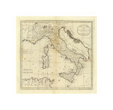 Italy and Sardinia, c.1796 Prints by Mathew Carey