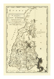State of New Hampshire, c.1795 Poster von Mathew Carey
