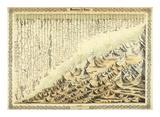 Mountains & Rivers, c.1856 Kunstdruck von G. W. Colton