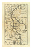 Delaware, c.1795 Poster von Mathew Carey