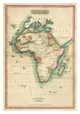 Africa, c.1820 Pósters por John Melish