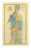 New York, Washington County, c.1829 Prints by David H. Burr