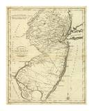 State of New Jersey, c.1796 Posters by John Reid