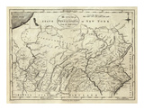 State of Pennsylvania, c.1796 Prints by John Reid