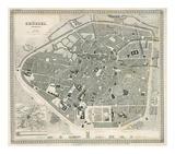 Brussels, Belgium, c.1860 Posters