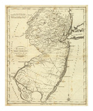 State of New Jersey, c.1796 Poster by John Reid