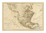North America, As Divided amongst the European Powers, c.1776 Prints by Robert Sayer