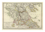 Ancient Greece, Northern, c.1829 Print