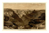 Grand Canyon: The Transept, Kaibab Division, c.1882 Posters by Thomas Moran