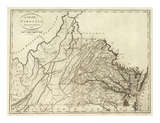 State of Virginia, c.1796 Prints by John Reid