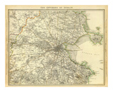 Dublin Environs, c.1837 Posters