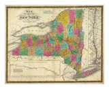 State of New York, c.1831 Prints by Samuel Augustus Mitchell