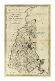State of New Hampshire, c.1796 Prints by John Reid