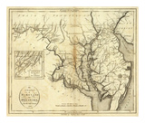States of Maryland and Delaware, c.1796 Prints by John Reid