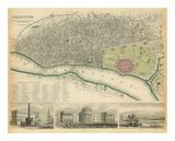 Calcutta, India, c.1842 Posters