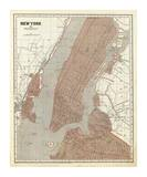 New York and Vicinity, c.1845 Prints by Sidney E. Morse