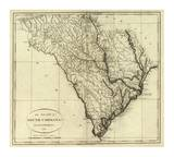 State of South Carolina, c.1796 Prints by John Reid