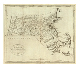 State of Massachusetts, c.1796 Prints by John Reid