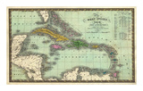 West Indies, c.1831 Prints by Samuel Augustus Mitchell