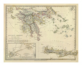 Ancient Greece, Southern, c.1829 Prints