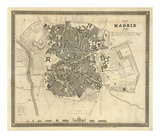 Madrid, Spain, c.1844 Poster