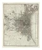 Philadelphia, c.1860 Plakat