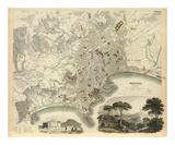 Naples, Italy, c.1835 Print