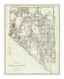 State of Nevada, c.1879 Poster