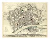Frankfurt, Germany, c.1837 Print