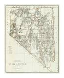 State of Nevada, c.1879 Prints