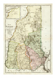 New Hampshire, c.1796 Posters by Daniel Friedrich Sotzmann