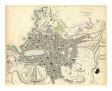 Marseille, France, c.1840 Print