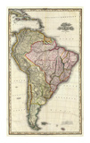 Composite: South America, West Indies, c.1823 Prints by Henry S. Tanner