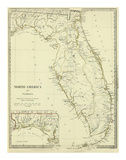 Florida, c.1834 Poster