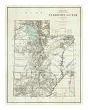 Territory of Utah, c.1879 Poster