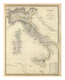 Italy I, c.1840 Print