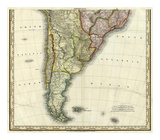 South America and West Indies, c.1823 Prints by Henry S. Tanner