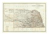 State of Nebraska, c.1879 Kunstdrucke