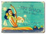 The Tiki Shack Wood Sign
