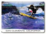 San Clemente California Wood Sign
